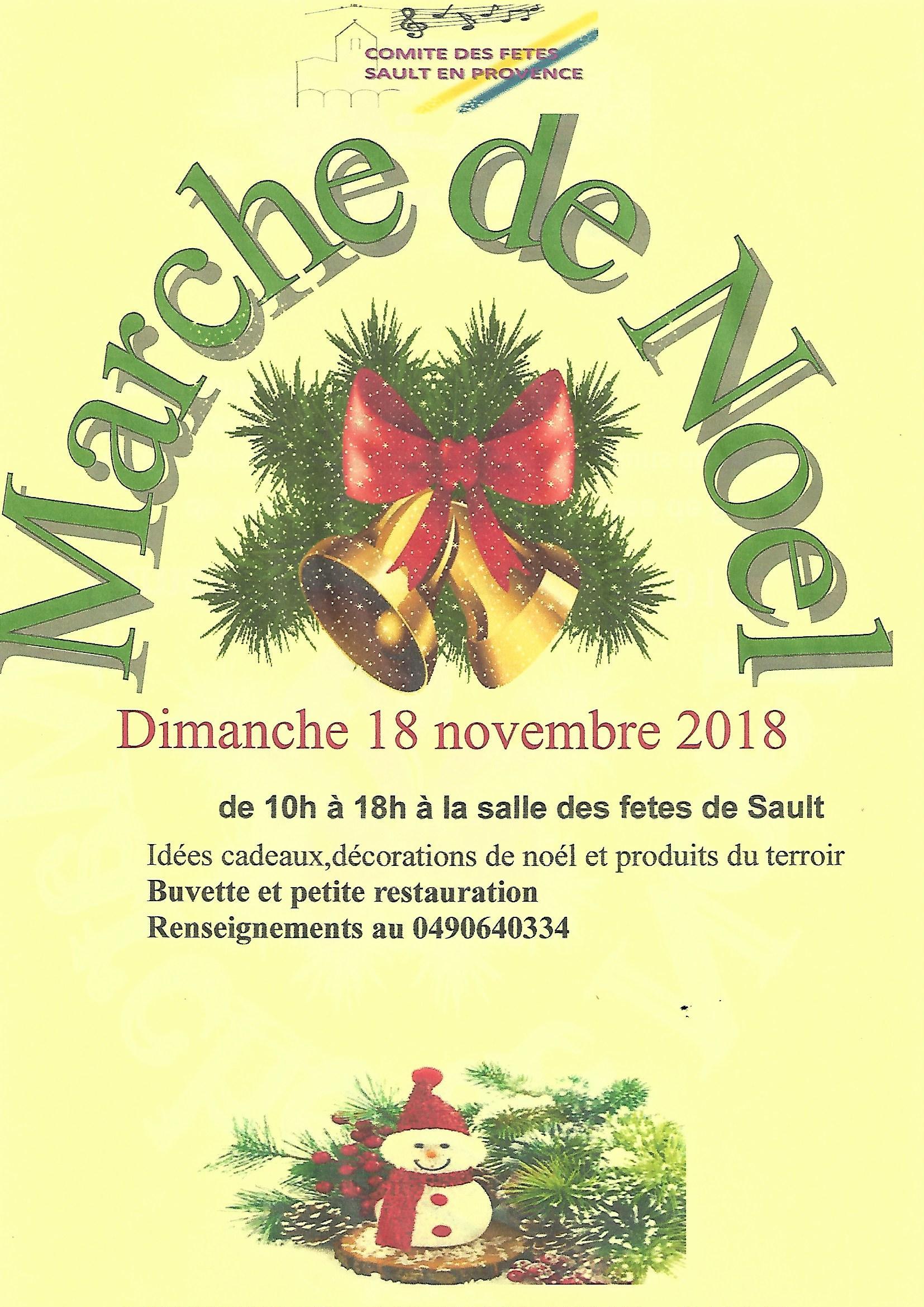 Marché de Noël Sault