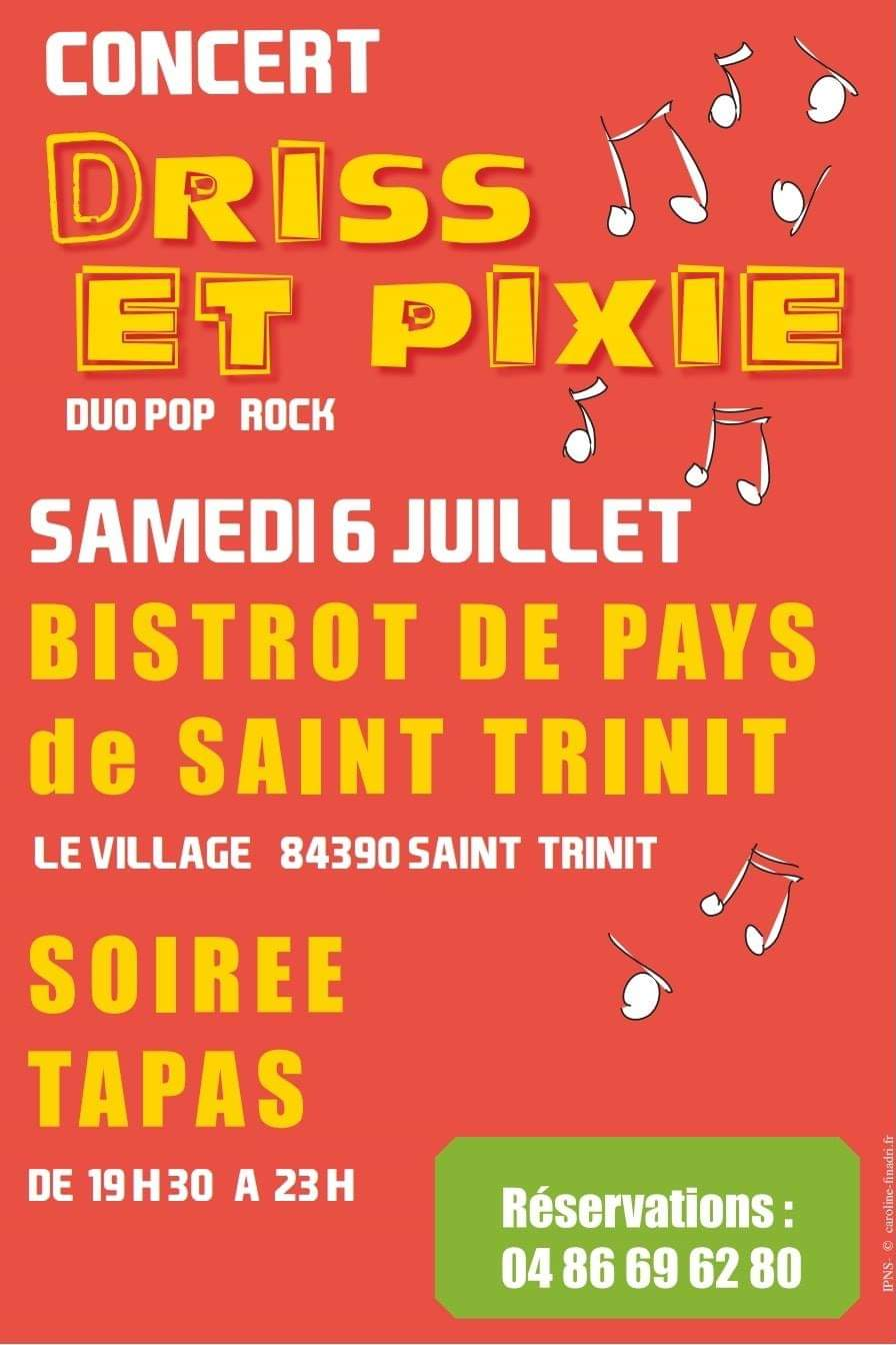 Concert Bistrot de Saint-Trinit
