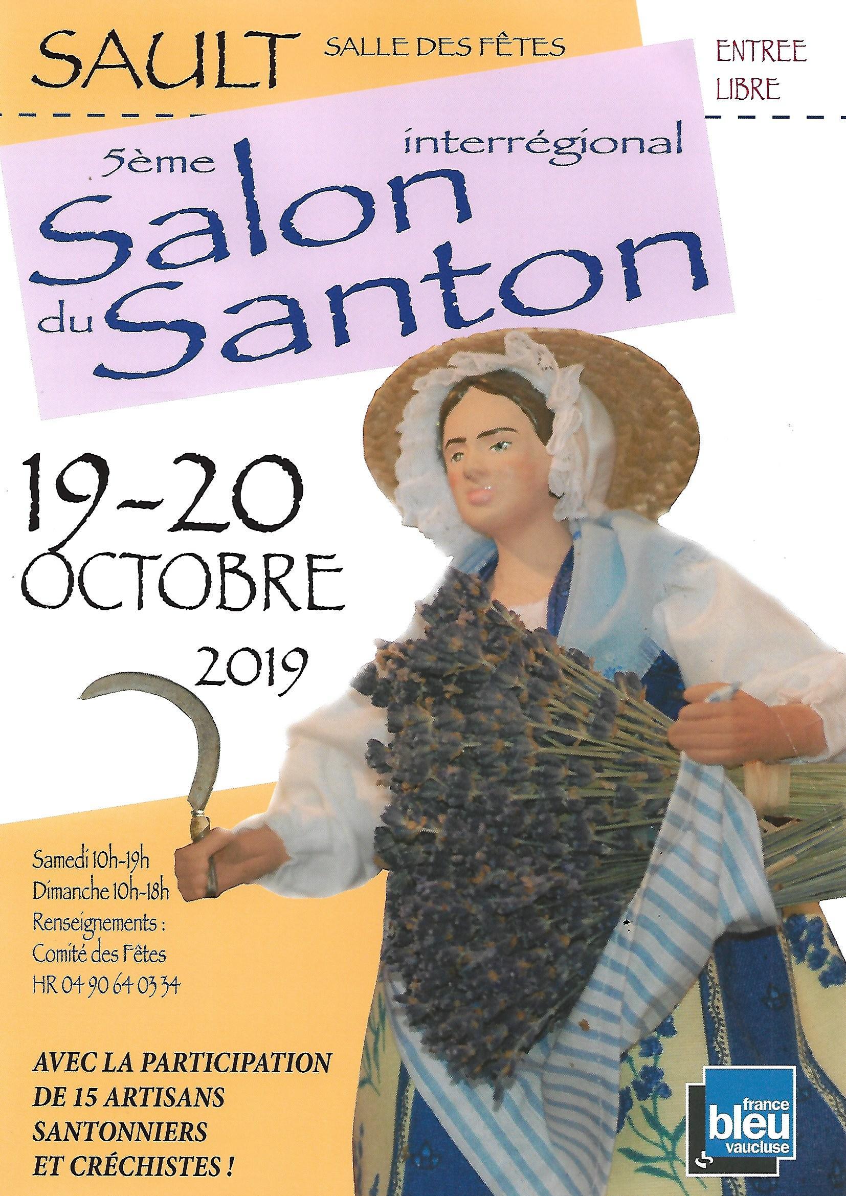 Salon du Santon à Sault